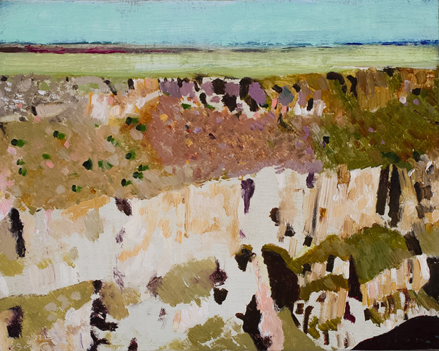 Richard Sober's painting: Gorge, 4