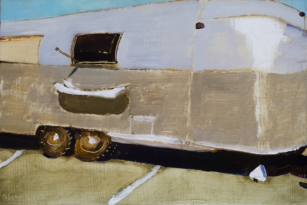 Richard Sober's painting: Airstream