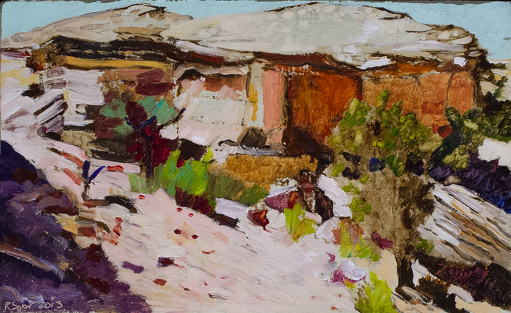 Richard Sober's painting: Broken Landscape
