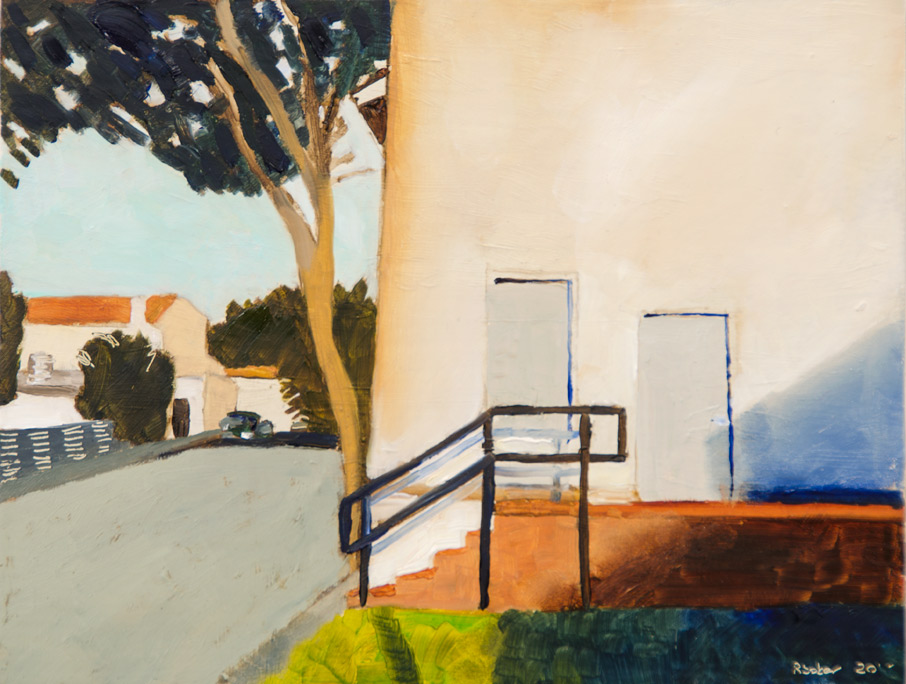 Richard Sober's painting: Two Doors