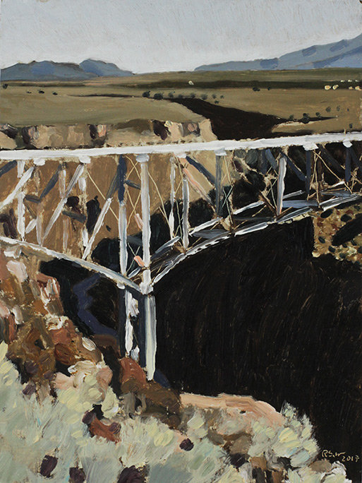 Richard Sober's painting: Gorge 10