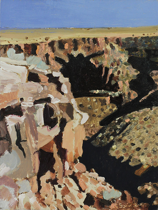 Richard Sober's painting: Gorge 12