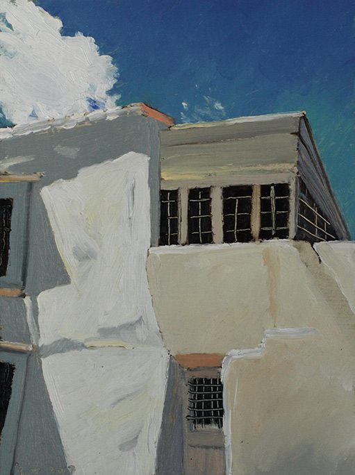 Richard Sober's painting: White House 5